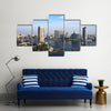 View Of The City From The Nile River In Cairo Multi Panel Canvas Wall Art