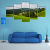 The Rovte village, Slovenia multi panel canvas wall art