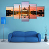The Central Mosque of Songkhla in Thailand multi panel canvas wall art