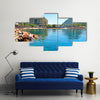Eilat - a resort town on the Red Sea Multi Panel Canvas Wall Art