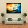 Digital Internet technology Multi panel canvas wall art