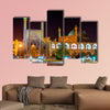View of Shah (Imam) Mosque in Isfahan in Iran multi panel canvas wall art