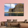 Fingal's Cave on the Isle of Staffa Multi panel canvas wall art