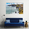 Cliffs of Moher Tourist Attraction in Ireland Multi Panel Canvas Wall Art
