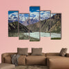 Stunning view of Himalaya Mountains from the Rakaposhi base camp in canvas wall art