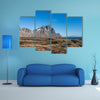Mountain landscape in Iceland multi panel canvas wall art