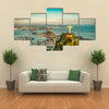 Scene Of A Bay From Height Of Christ And Botafogo, Multi Panel Canvas Wall Art