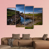 Rocky coastline on Rubha Hunish peninsula, Isle of Skye, Scotland wall art