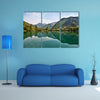 A beautiful nature in small village Most na Soci, Slovenia, EU multi panel canvas wall art