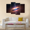 The galaxy system with a bright optical centre Elements of this image Multi Panel Canvas Wall Art