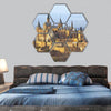 Photography of the germen castle Hohenzollern hexagonal canvas wall art