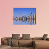 Wide angle view of Shanghai, China multi panel canvas wall art