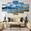 Torres del Paine National Park, Patagonia Multi panel canvas wall art