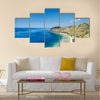 Tropical paradise Cristo Rei Beach near Dili in East Timor Asia Multi Panel Canvas Wall Art