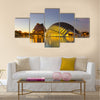 Planetarium and Laserium in the City of Arts and Sciences multi panel canvas wall art
