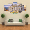 Fountain in Rome, Italy Multi panel canvas wall art