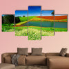 Rural field in Tasmania, Australia multi panel canvas wall art