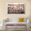 most beautiful view of Istanbul, Turkey Multi panel canvas wall art
