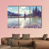Hike on Garibaldi Lake near Whistler, BC, Canada Multi panel canvas wall art