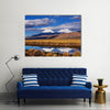 The BigAnd Beautiful High And Snowy Mountains In Bolivia, Multi Panel Canvas Wall Art