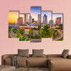 Tampa, Florida, USA downtown skyline multi panel canvas wall art
