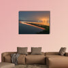 Cileunca Lake multi panel canvas wall art