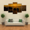 The Sunset Beauty On The Island Of Mali Losinj, Croatia, Multi Panel Canvas Wall Art