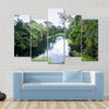 Blue River / Tulu river / Niari river Congo Multi panel canvas wall art