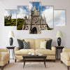 Sanctuary of Our Lady, Las Lajas, Colombia Multi Panel Canvas Wall Art