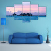 Kani Island Beautiful Island, Maldives Multi Panel Canvas Wall Art