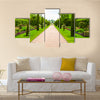 High dynamic range HDR Regent's Park landscape in London, England, UK multi panel canvas wall art