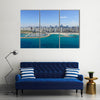 Tel Aviv Skyline Multi Panel Canvas Wall Art