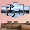 Sculpture of Art multi panel canvas wall art