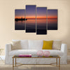 Red Sea with calmp water Multi panel canvas wall art