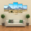 Ethiopia, Yeha, the Adua mountains seen from the Temple of the Moon area multi panel canvas wall art