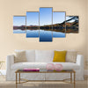 Lac-Superieur, in Laurentides Multi panel canvas wall art