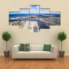 The Beauty Of The Harbor City Ventspills, Latvia Multi Panel Canvas Wall Art