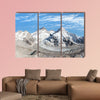 Beautiful view of Mount Everest, Lhotse and nuptse from Pumo RI base camp wall art