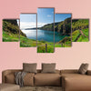 Beautiful landscape of cliffs in Ireland multi panel canvas wall art