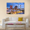 Beautiful view of San antonio, texas, us skyline Multi panel canvas wall art