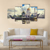 The Sultan Omar Ali Saifudding Mosque, Bandar Seri Begawan, Brunei, Southeast Asia Multi panel canvas wall art