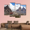 Refugio height at the Dolomites Mountain multi panel canvas wall art