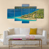 Kingdom of Tonga viewed from above Multi panel canvas wall art