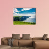 Coast at the Cliffs of Moher In Ireland Multi panel canvas wall art