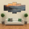 Morning in the mountains of Carpathian at dawn Multi panel canvas wall art