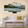 UK, Scotland, Highlands, Dornie, Landscape of the Loch Alsh multi panel canvas wall art