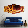 Beautiful Sombrero Multi Panel Canvas Wall Art