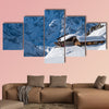 Alpine chalet multi panel canvas wall art