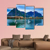 Lofoten is an archipelago in the county of Nordland, Norway multi panel canvas wall art
