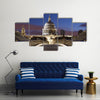 Bridge to St Pauls in London Multi panel canvas wall art